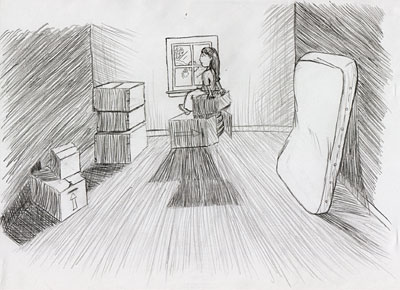 Moving Day - fast sketch