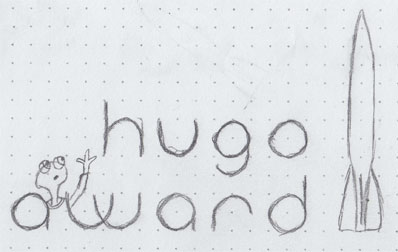 Hugo Logo concept with critter
