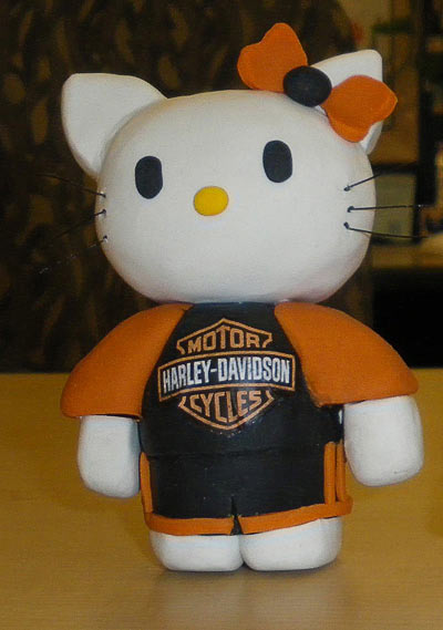 Hello Kitty Harley Davidson