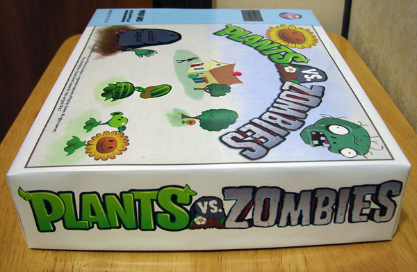 Box Lid for Plants V Zombies game