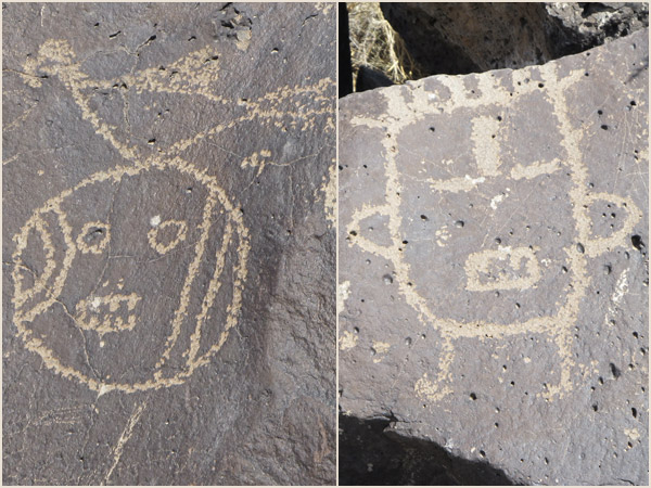 petroglyphs of yei, i think