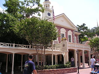 Outside of Hall of Presidents
