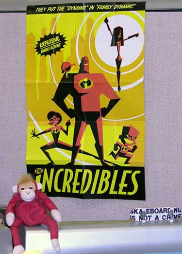 Incredibles Poster Original